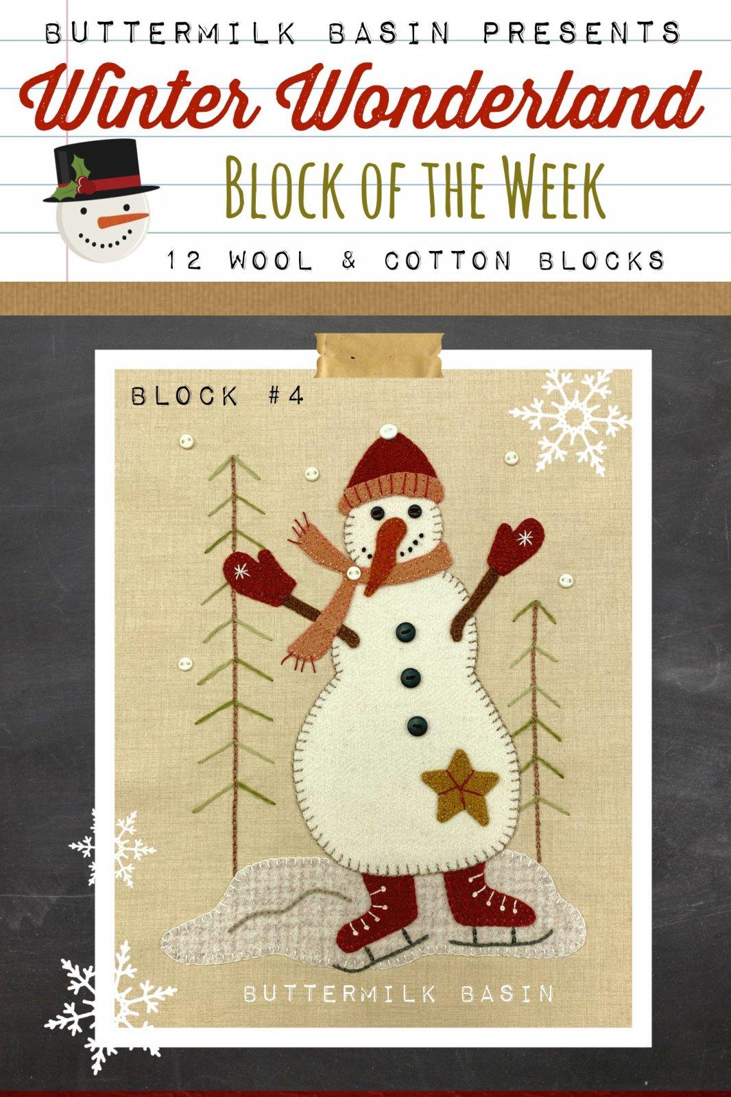 Winter Wonderland Block #4 *Kit & Pattern