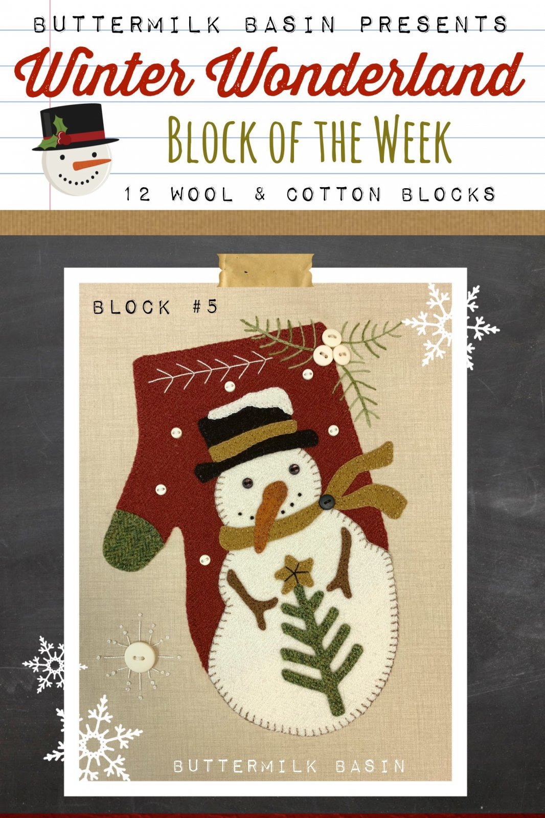 Winter Wonderland Block #5 *Kit & Pattern