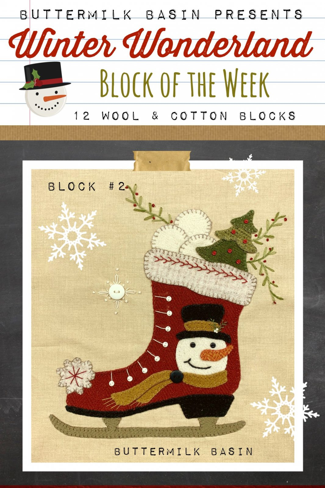 Winter Wonderland Block #2 *Kit & Pattern