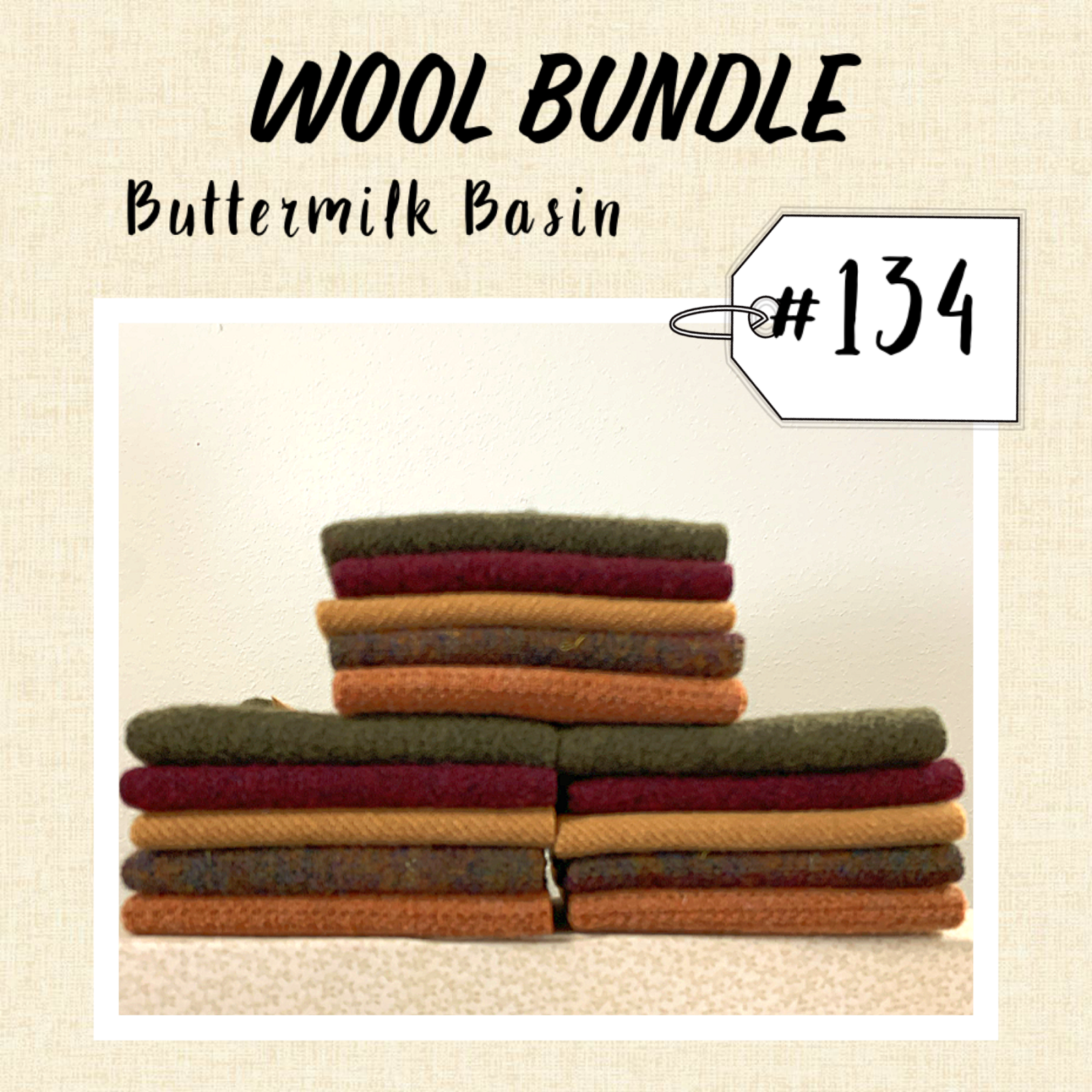 Wool Bundle #134B