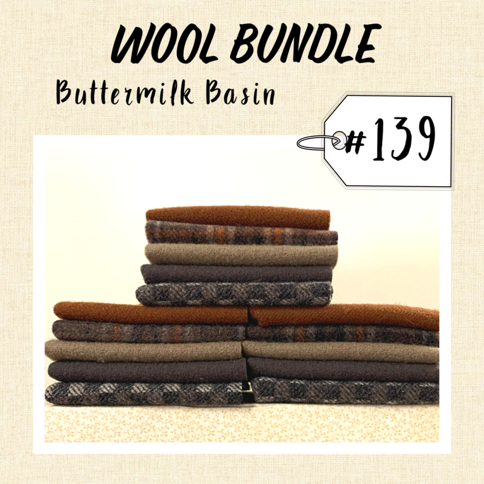 Wool Bundle #139B