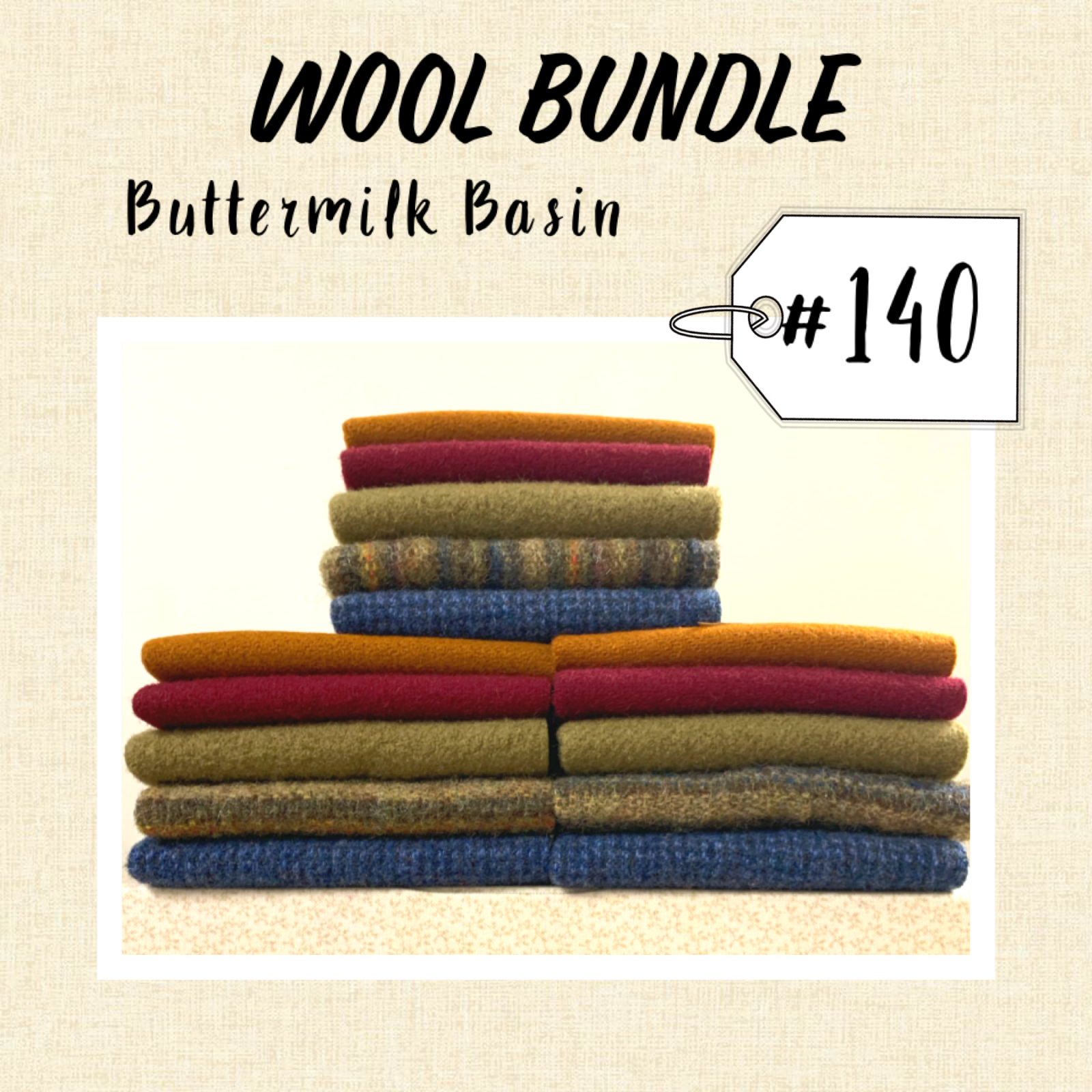 Wool Bundle #140B