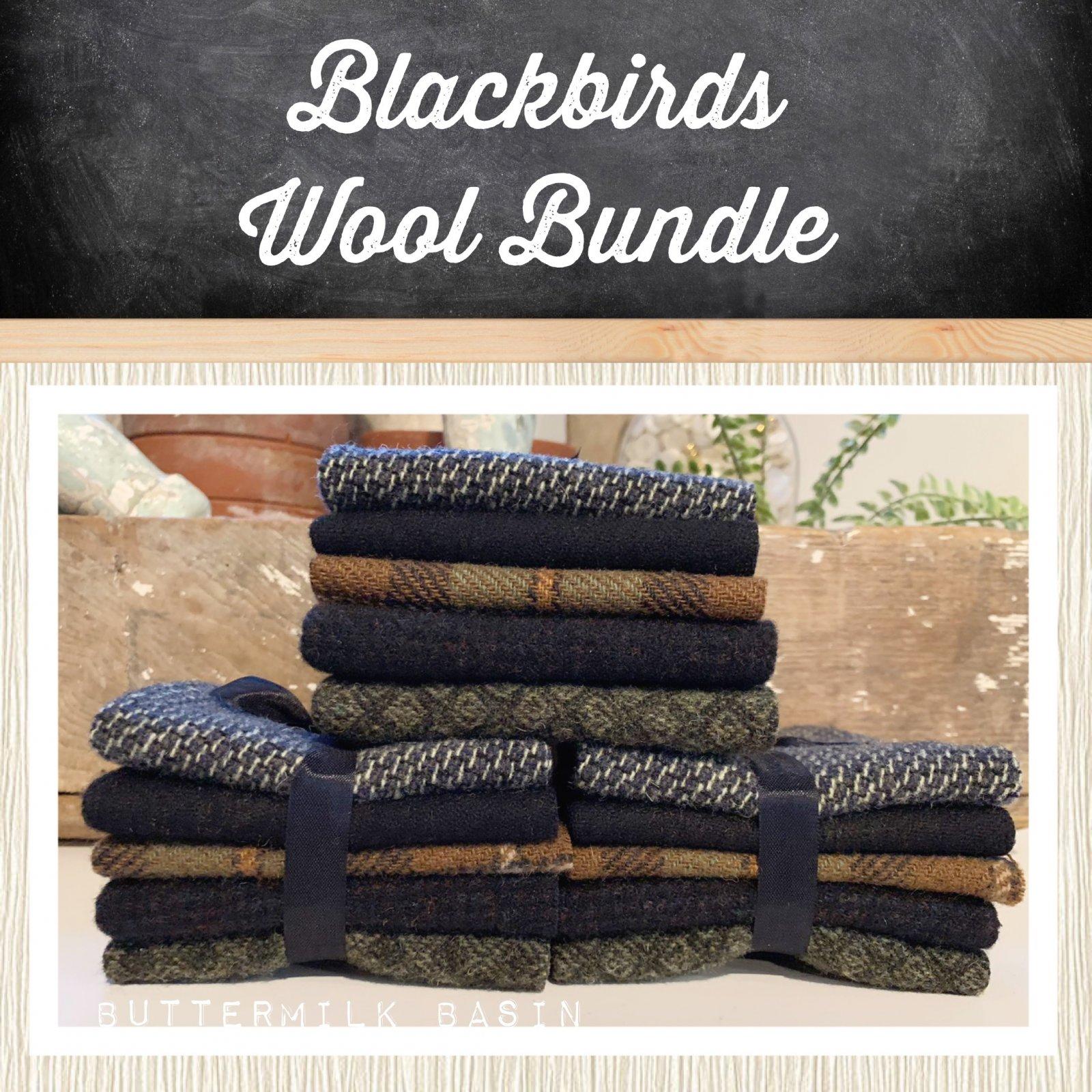Blackbirds Wool Bundle