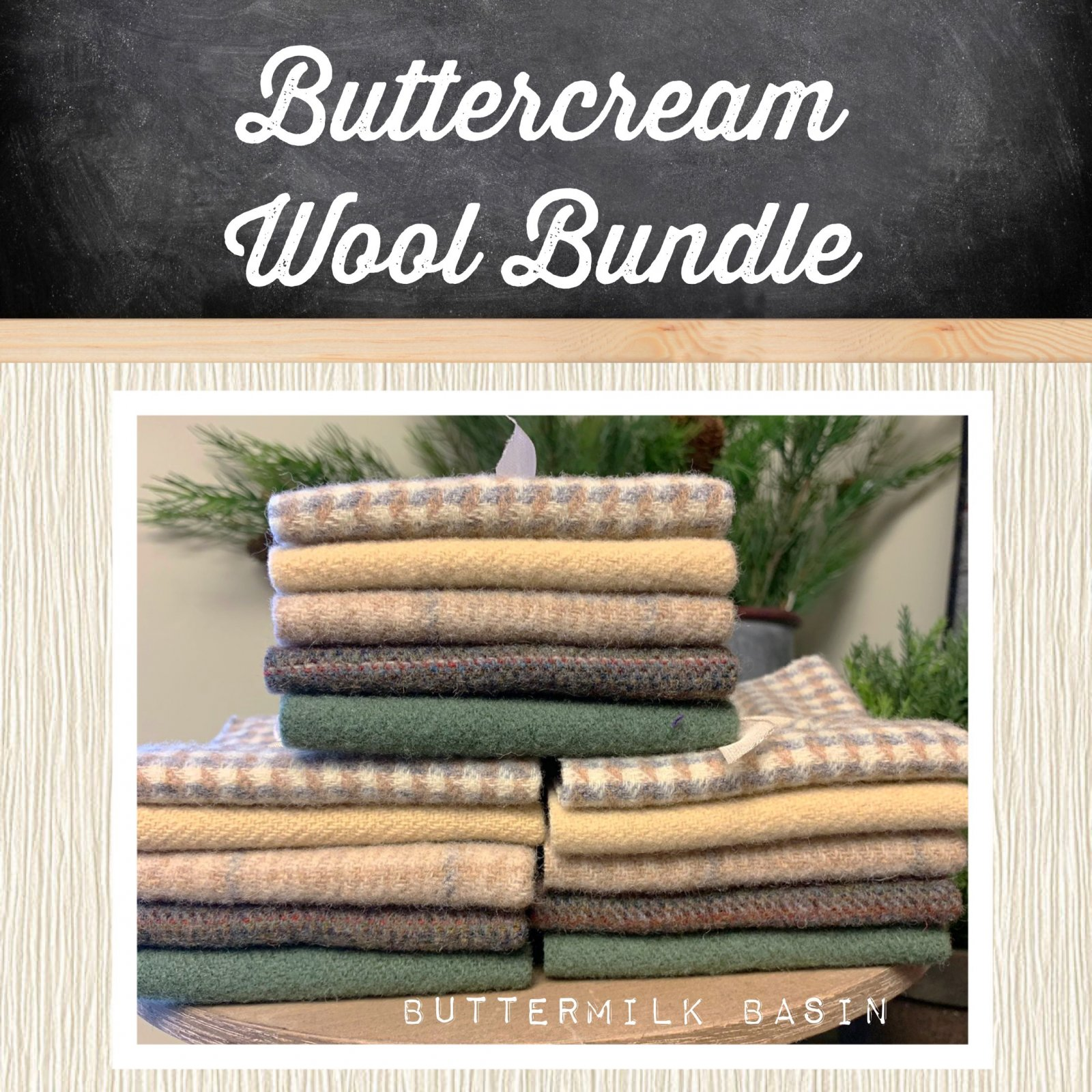 Buttercream Wool Bundle