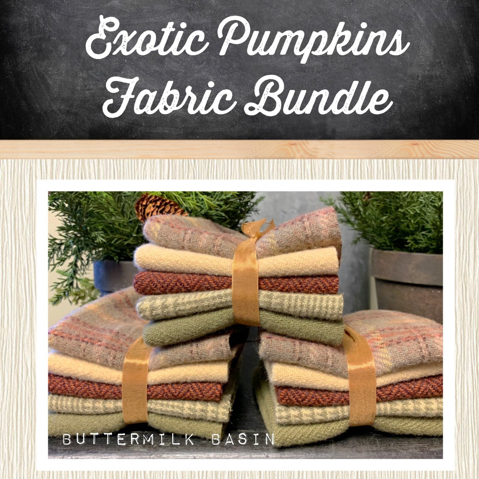 Exotic Pumpkins 2 Wool Bundle