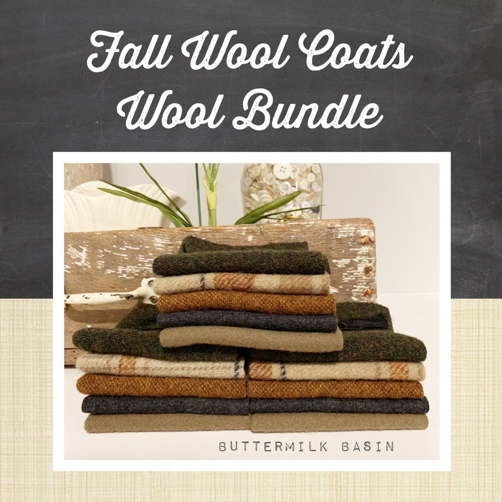 Fall Wool Coats Wool Bundle