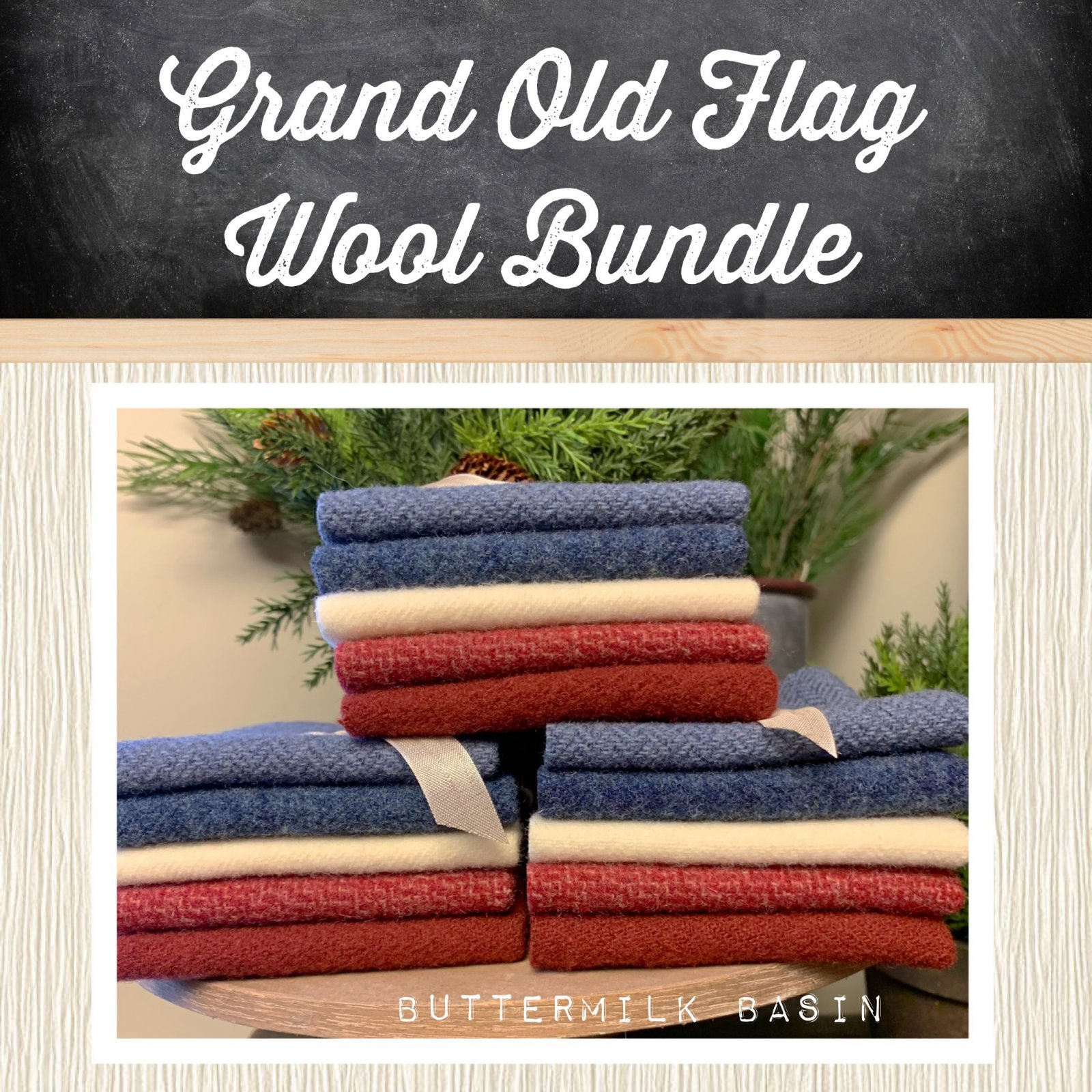 Grand Old Flag Wool Bundle
