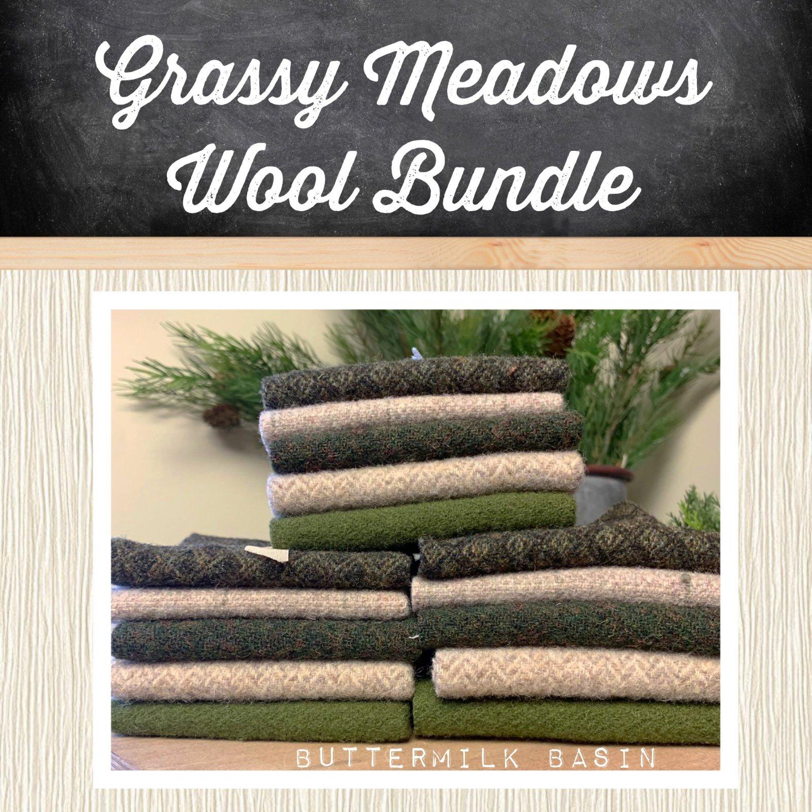 Grassy Meadows Wool Bundle