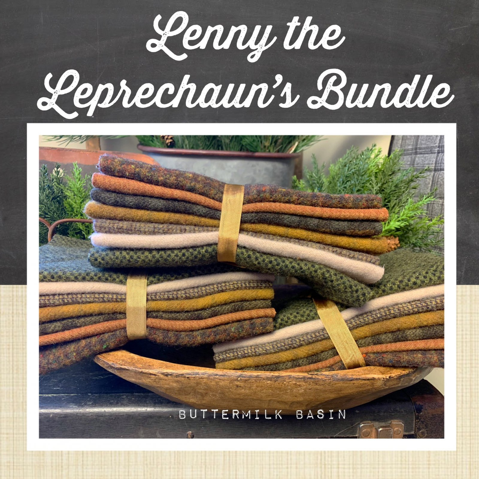 Lenny the Leprechaun's Wool Bundle