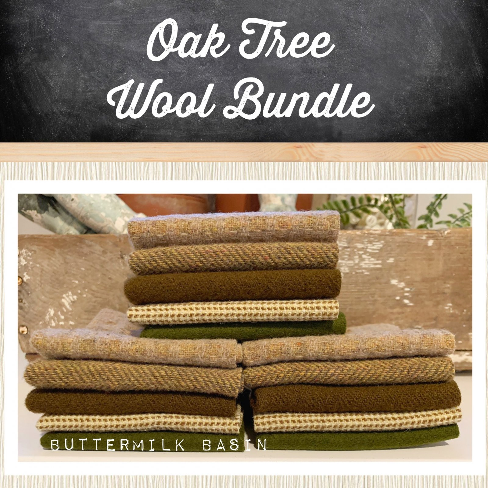 Oak Tree Wool Bundle