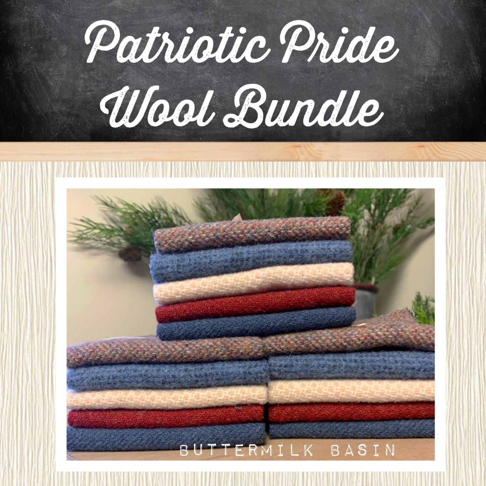 Patriotic Pride Wool Bundle