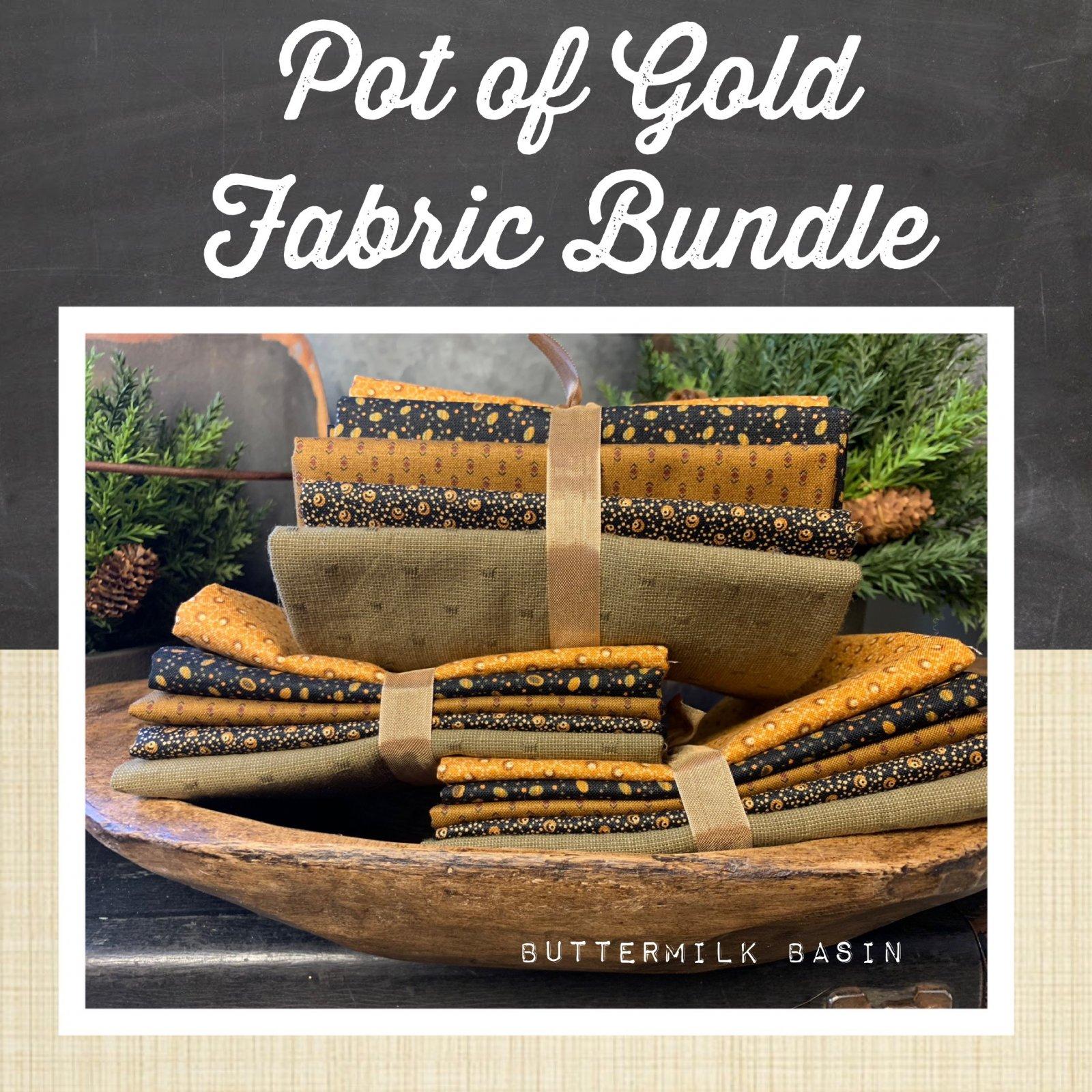 Pot of Gold Fabric Bundle
