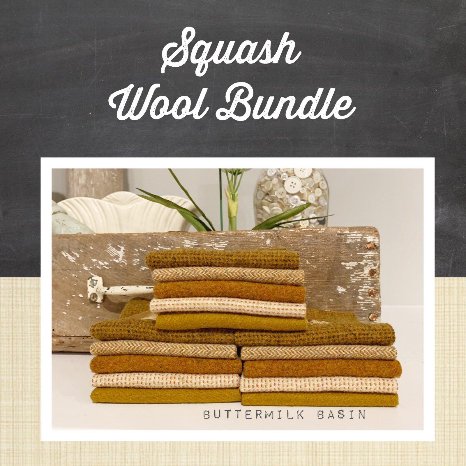 Squash Wool Bundle