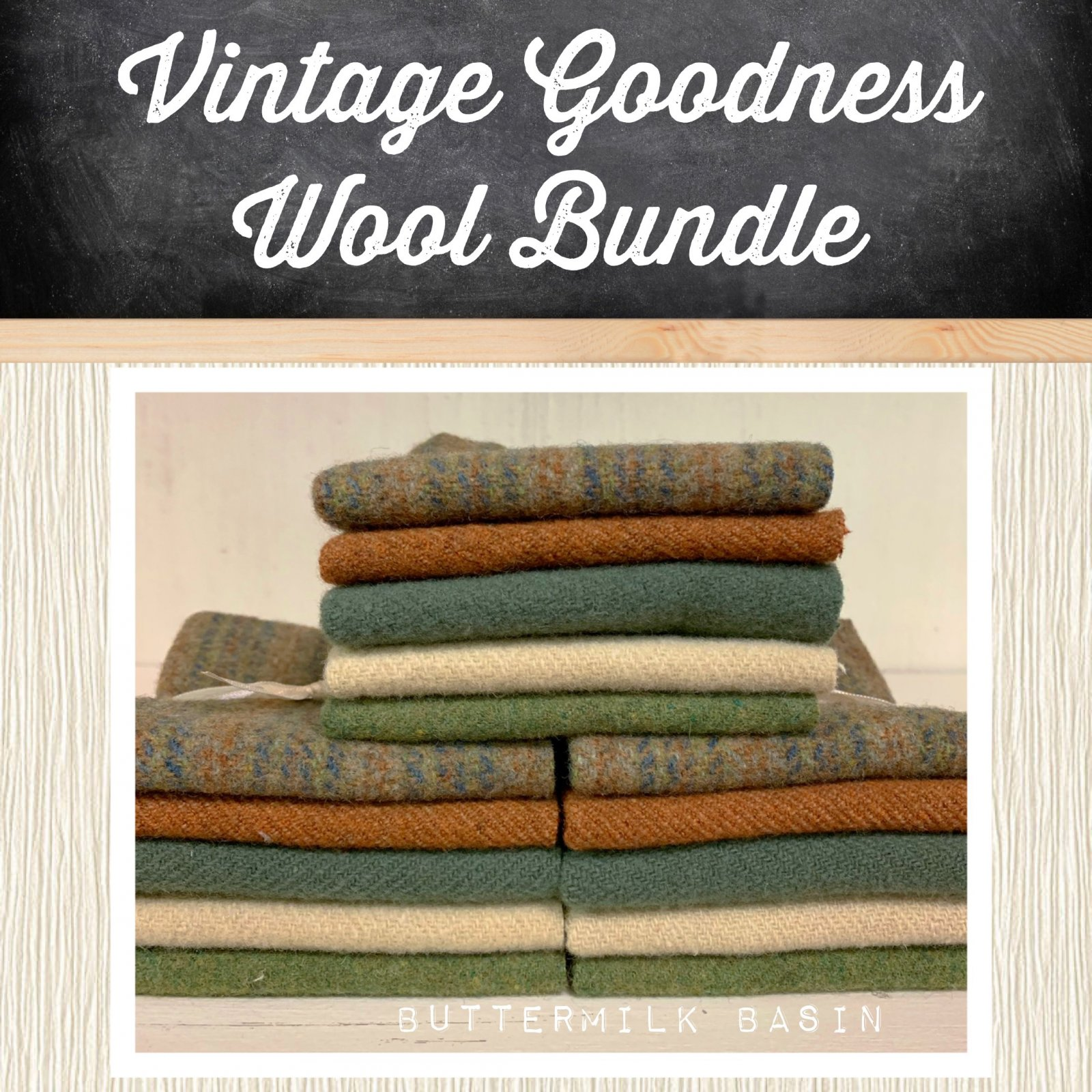 Vintage Goodness Wool Bundle