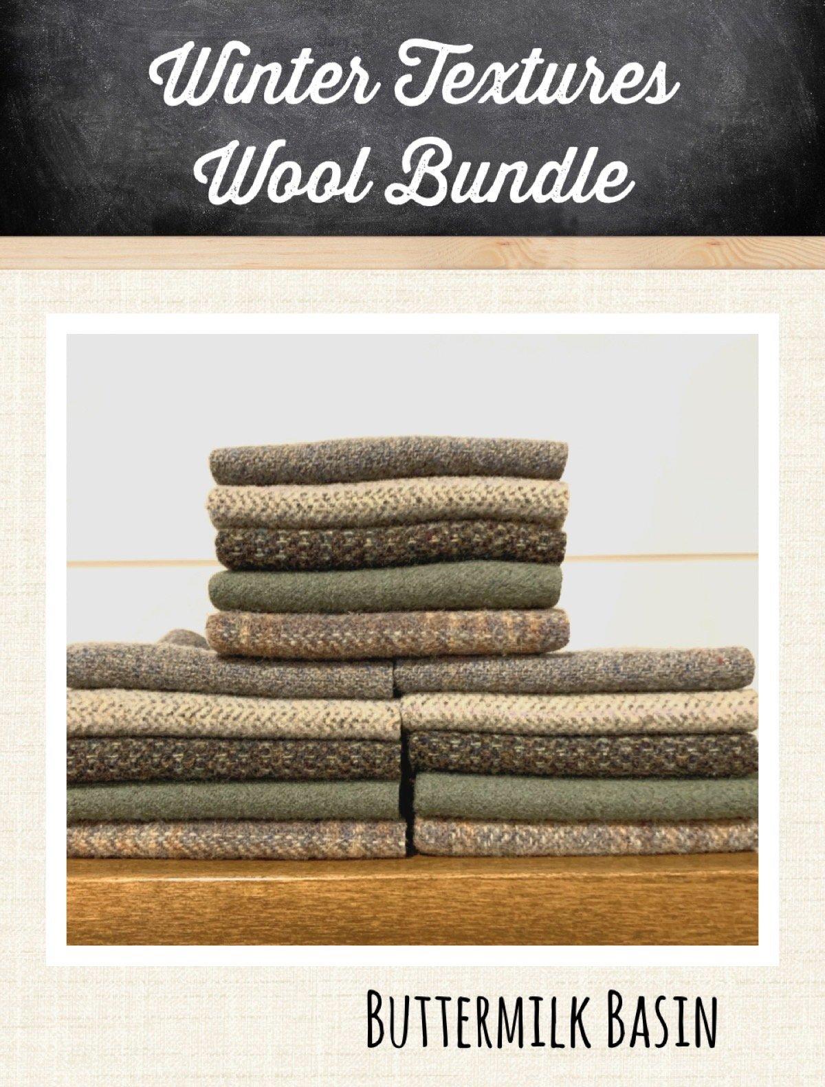 Winter Textures Wool Bundle