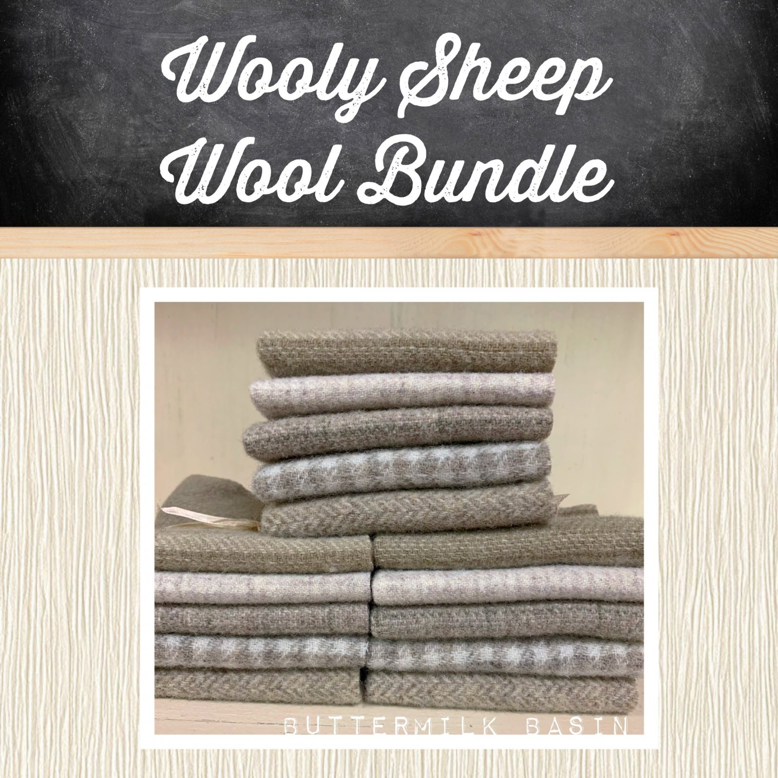 Wooly Sheep Wool Bundle