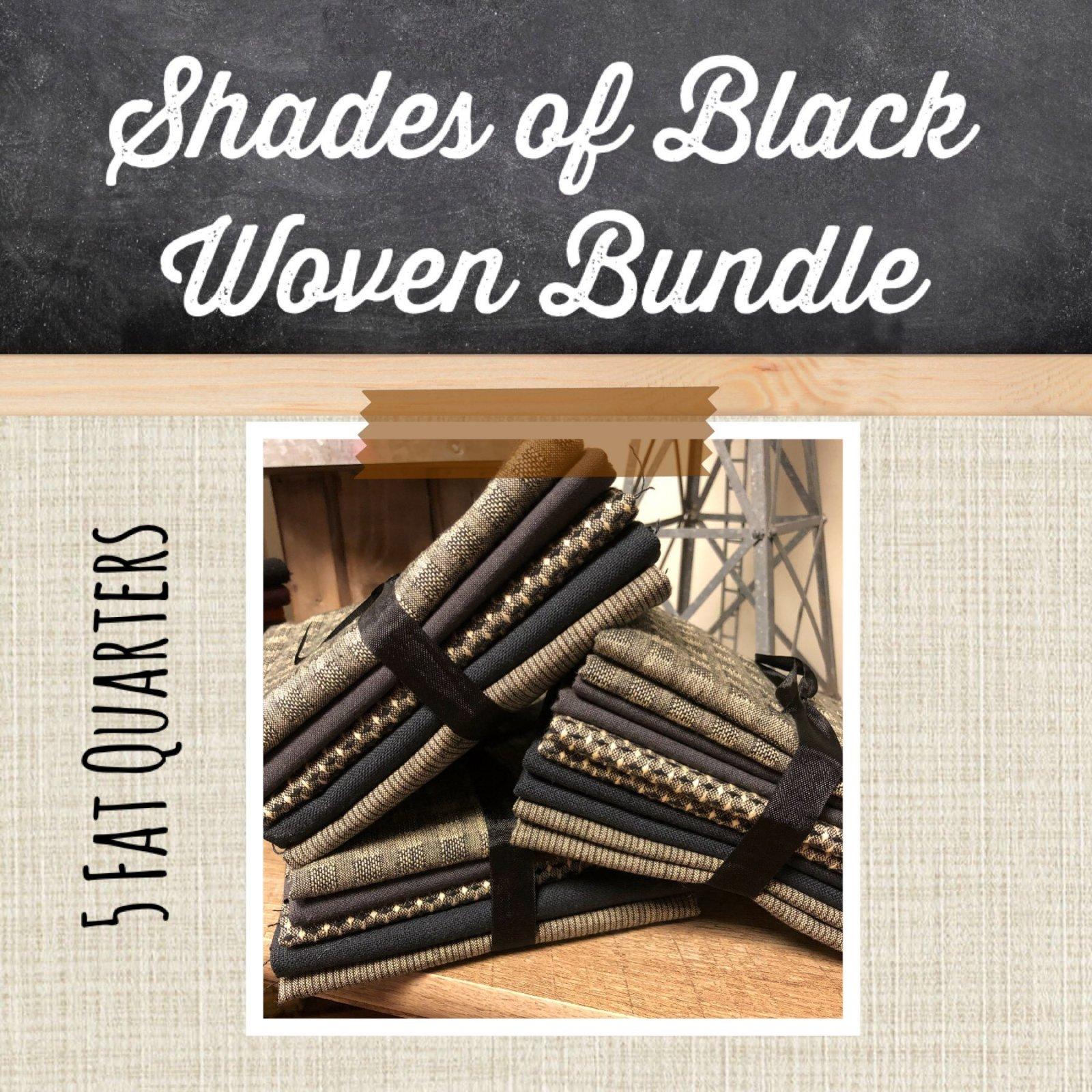 Shades of Black Woven Bundle