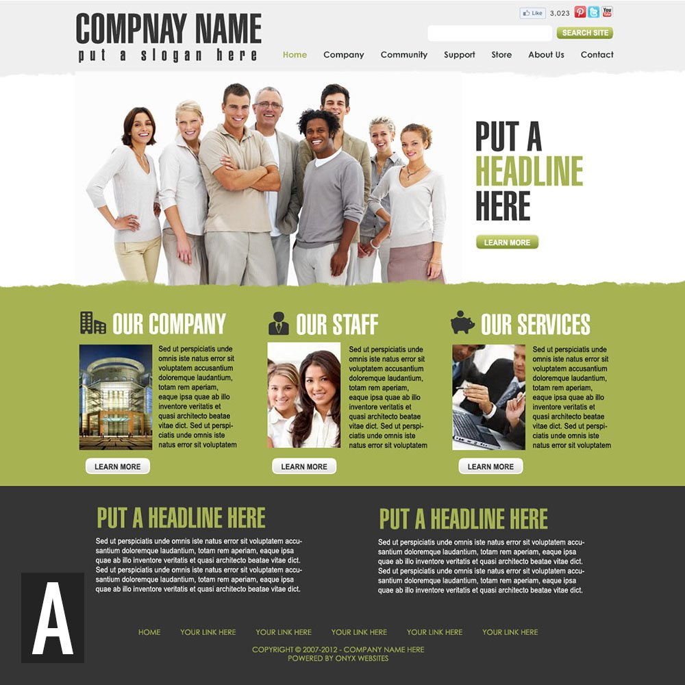 General business website templates wajeb Images