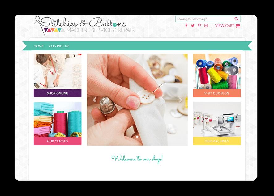Fabric Shop Website