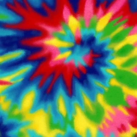 Multi Tie Dye Flannel 0038AE-78