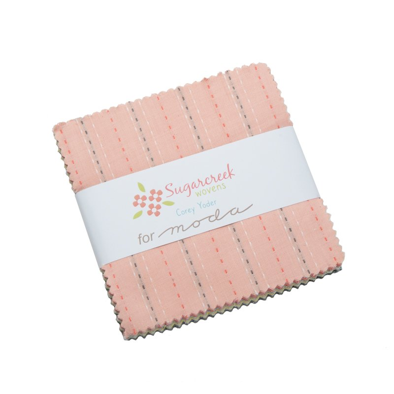 5 Squares Sugarcreek Silky Woven Charm Pack 12230PP
