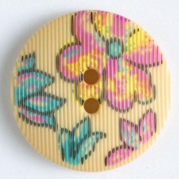 Button - Yellow Polyamide