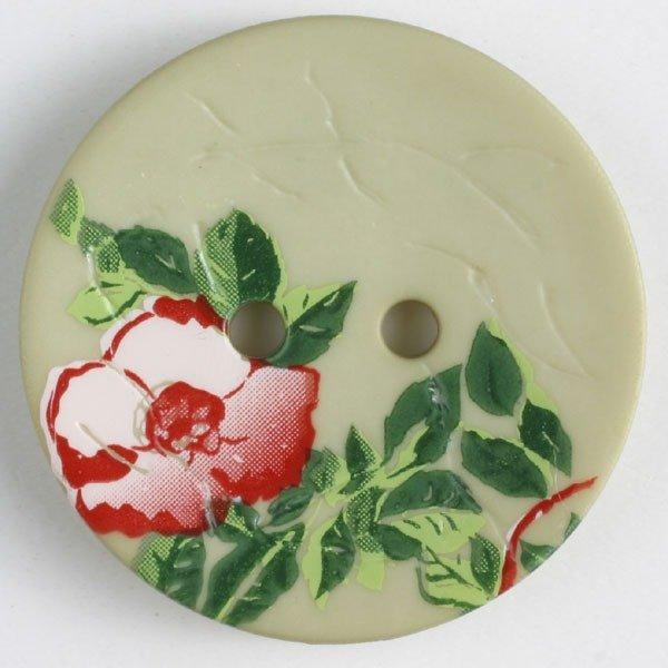 Button -Green Polyamide