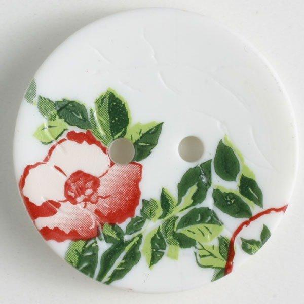 Button -White Polyamide