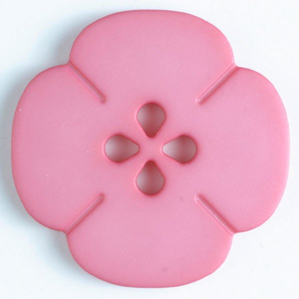 Button -  Pink Bloom