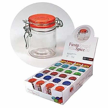 Fiesta Round Mini Spice Jars 1.7 oz.