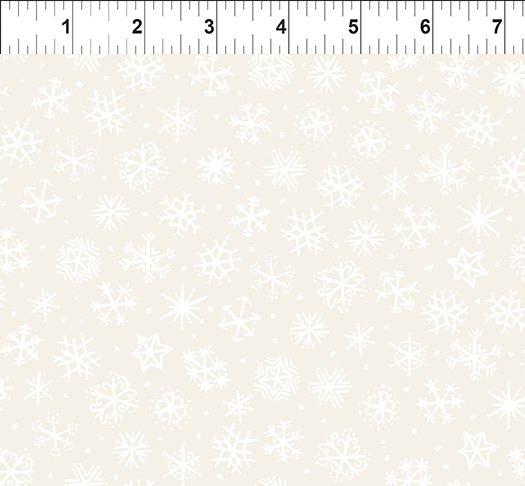 Snowy Snowflakes Cream 11JPL 1
