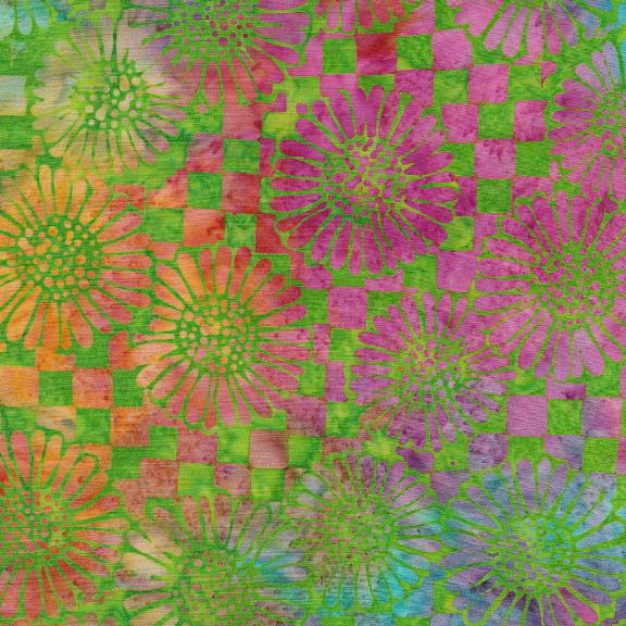 Jewelbox Check/Sunflower-TieDye 121930860