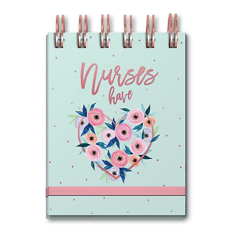 Nurse Have Heart Spiral Notepad