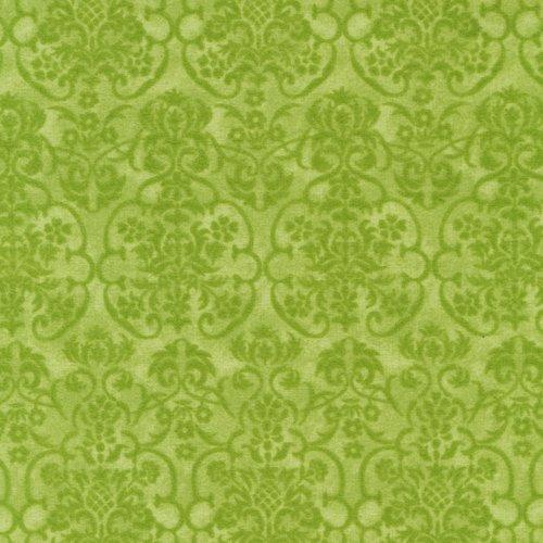 Cambridge Flannel Damask Green