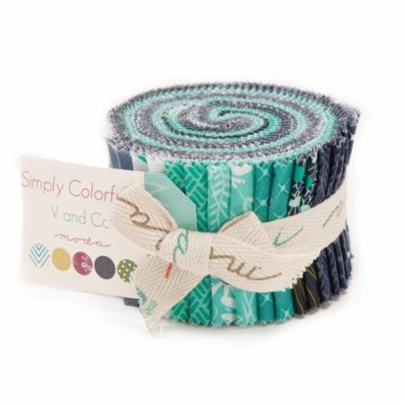 Simply Colorful Junior Jelly Roll II Blue