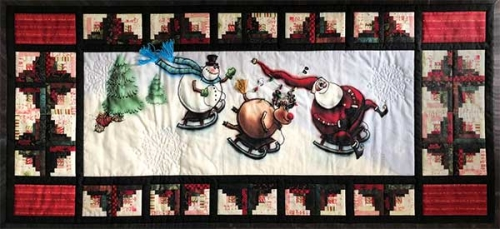 Christmas Vacation Digital Quilt Top Kit