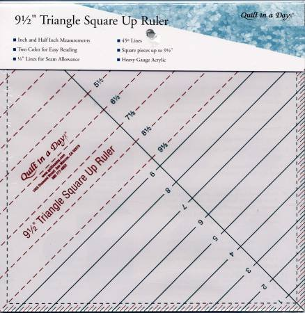 9 1/2 Triangle Square Up Ruler