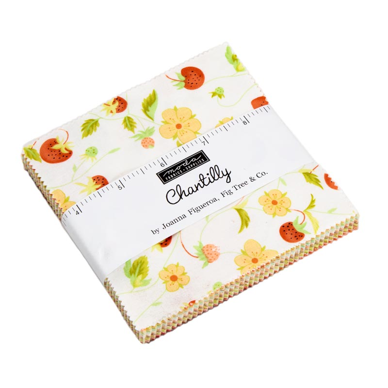 Chantilly Charm Pack 5 Squares, 20340PP