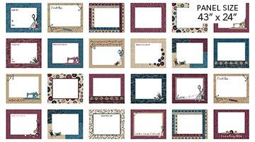 Panel, Material Girl Labels  23217 68