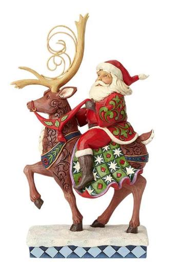 Santa Riding Reindeer 6001471