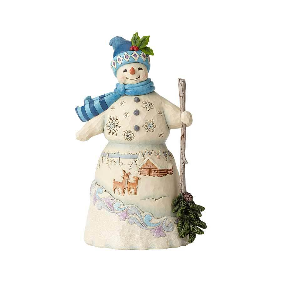 Snowman with Broom 6001476