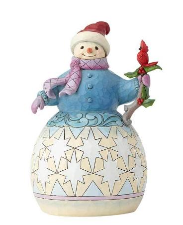 Snowman with Cardinal 6001478