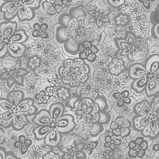108 Isadora Stone Grey Wide Backing