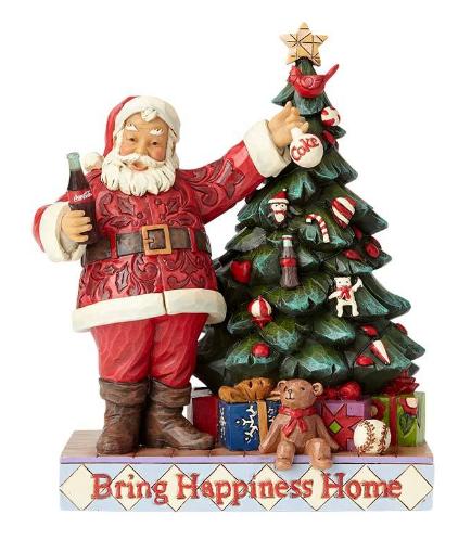Coca-Cola Santa with Tree 4059472