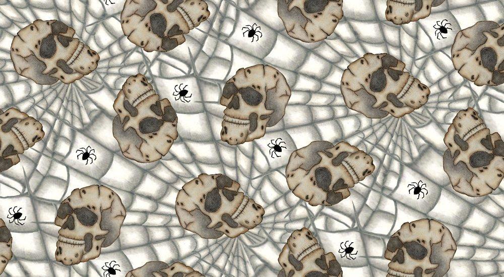 Skulls/Spiders Spooktacular Halloween