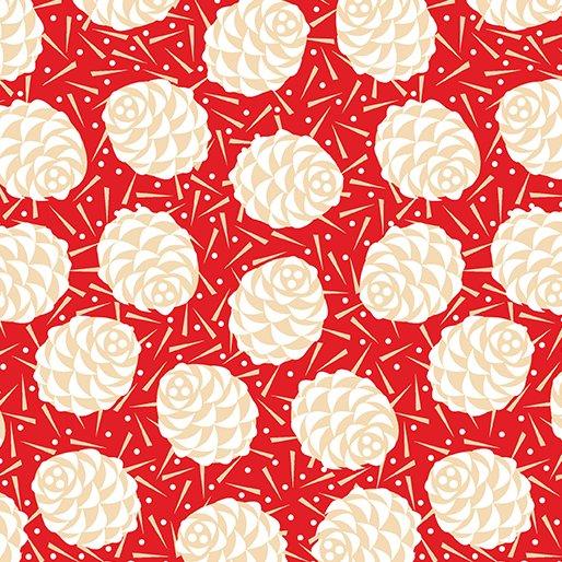 Winter Story, 08625-10, Winter Pine Red