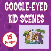 Google-Eyed Kid Scenes