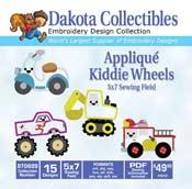 Applique Kiddie Wheels