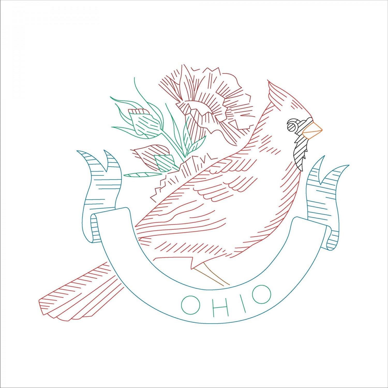 Ohio State Bird, 12 Repeat, 4 birds