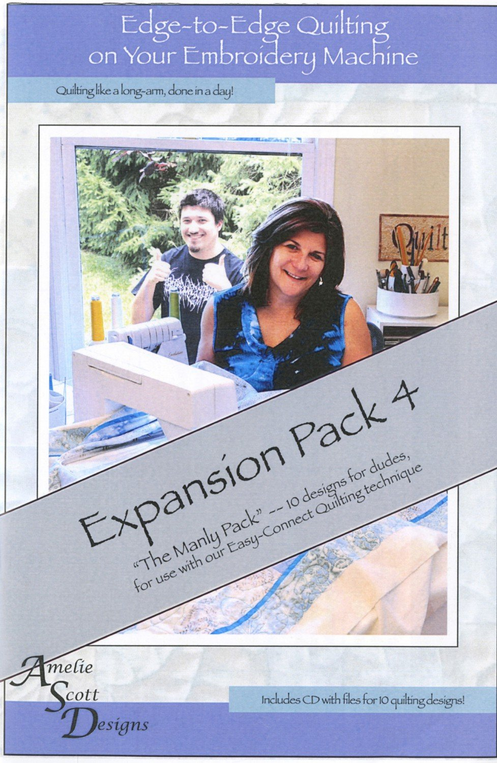 Edge-to-Edge Quilting, Expansion Pack 4